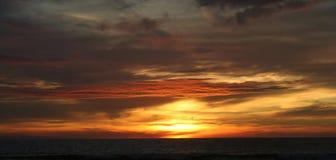 Sunset. Colorful sunset Stock Photos