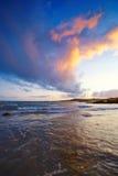 Sunset. At Onehencia ,Co. Cork, Ireland Royalty Free Stock Photo