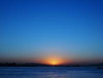 sunset Στοκ φωτογραφία με δικαίωμα ελεύθερης χρήσης
