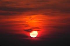 Sunset. Background Royalty Free Stock Photo