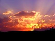 sunset стоковые фото