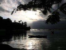 Sunset. In Paqueta - Rio de Janeiro - Brazil stock image