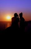 Sunset. Taken at Croatian coast Stock Photo