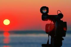 Sunset. Shot Stock Image