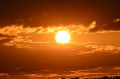 Sunset1 Royalty-vrije Stock Afbeelding