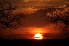sunset στοκ εικόνες