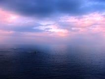 Sunset. Next to the sea Stock Photos