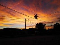 Sunset_2 Stock Afbeelding