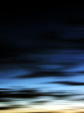 Sunset. Abstract Sunset Stock Photo