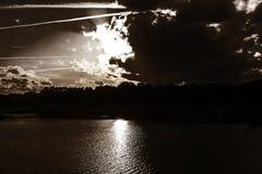 Sunset112 Arkivfoton