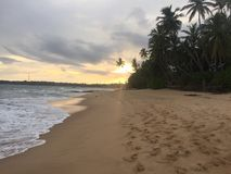 Sri Lanka Sunset stock images