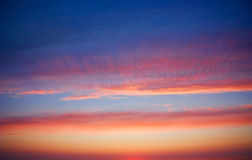 Sunset, abstract background Royalty Free Stock Images