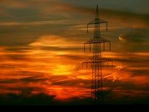 Sunset, Afterglow, Landscape Stock Photos