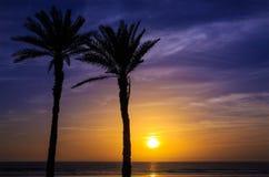 Sunset in Agadir, Morocco Stock Photos