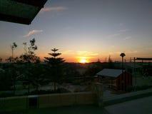 Sunset Alkimos 1 Royalty Free Stock Image