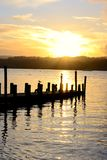 Sunset in Ambleside. Royalty Free Stock Images