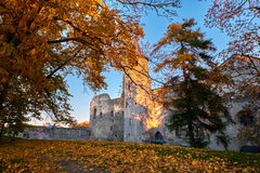 Free Sunset And Castle Royalty Free Stock Photography - 62001377