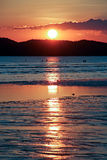 Sunset at Andaman beach Royalty Free Stock Image