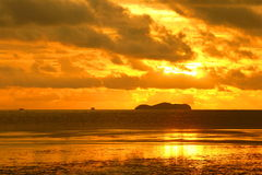 Sunset at Andaman Sea Royalty Free Stock Image