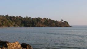 Sunset Andamans India stock footage