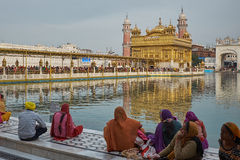 Sunset ar Golden Temple Royalty Free Stock Photo
