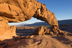 Sunset Arch Stock Image
