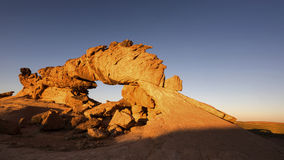 Sunset Arch during sunset Stock Photography