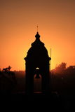 Sunset in Arequipa Royalty Free Stock Image