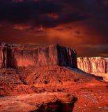Sunset Arizona Monument Valley Royalty Free Stock Photos