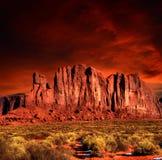 Sunset Arizona Monument Valley Royalty Free Stock Photo