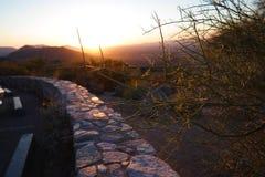 Sunset in Arizona Royalty Free Stock Image