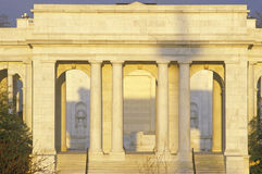 Sunset on the Arlington Memorial Theater, Washington, DC Stock Images