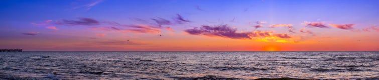 Free Sunset At Baltic Sea In Resort Palanga, Lithuania Royalty Free Stock Image - 90122926