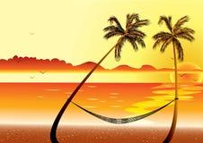Free Sunset At Beach Stock Image - 13230551