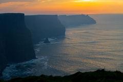 Free Sunset At Cliffs Of Moher Royalty Free Stock Photography - 92374807