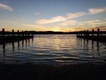 Free Sunset At Denbigh Docks Stock Image - 143742101