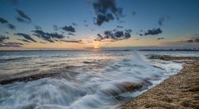 Sunset At La Perouse, Sydney Stock Image