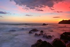 Sunset At Muir Beach Royalty Free Stock Image