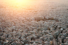 Sunset in Athens. Stock Images