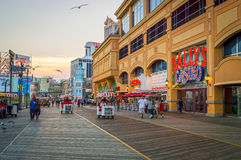 Sunset Atlantic City Royalty Free Stock Images