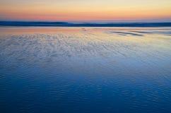 Sunset on atlantic coast Stock Photo