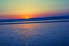Sunset on atlantic coast Stock Images