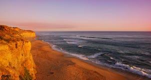 Sunset in Australia Stock Photos