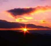 Sunset background Stock Images