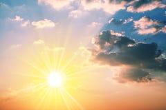 Sunset background Royalty Free Stock Image