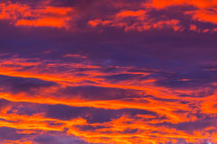 Sunset background Royalty Free Stock Photography