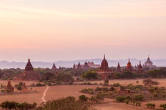 Sunset in Bagan Stock Photos