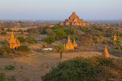 Sunset in Bagan Stock Photo