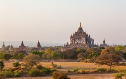 Thatbyinnyu Temple, Bagan Stock Photos