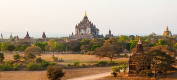Thatbyinnyu Temple, Bagan Royalty Free Stock Photography